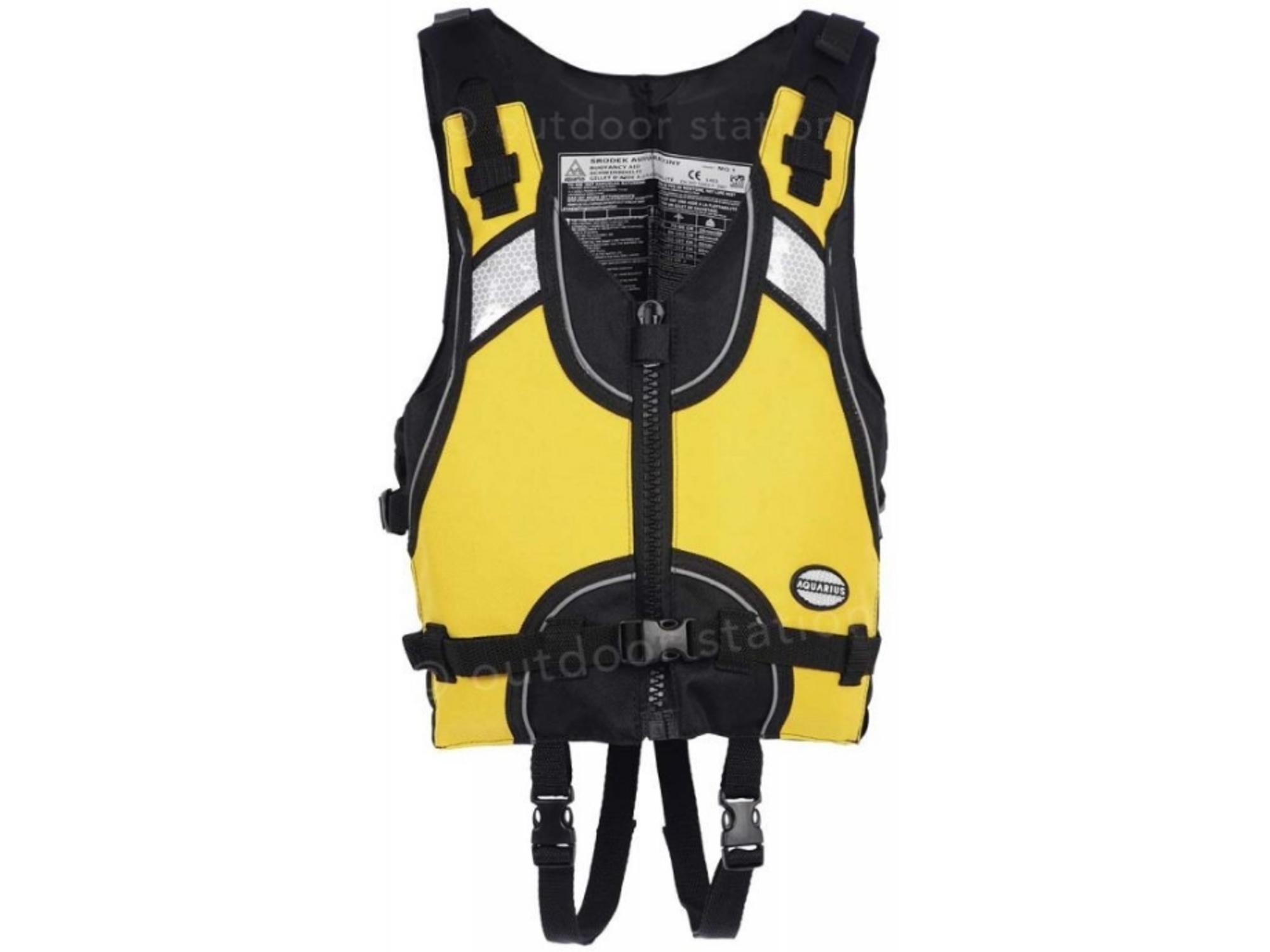 Aquarius Otroški rešilni jopič za vodne športe MQ1 XS rumena