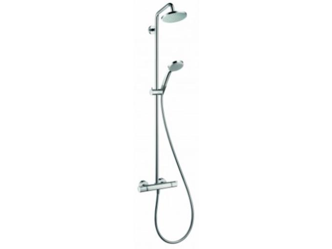 HANSGROHE termostatska prha - set Croma 160 1jet Showerpipe 27135000 - ODPRTA EMBALAŽA
