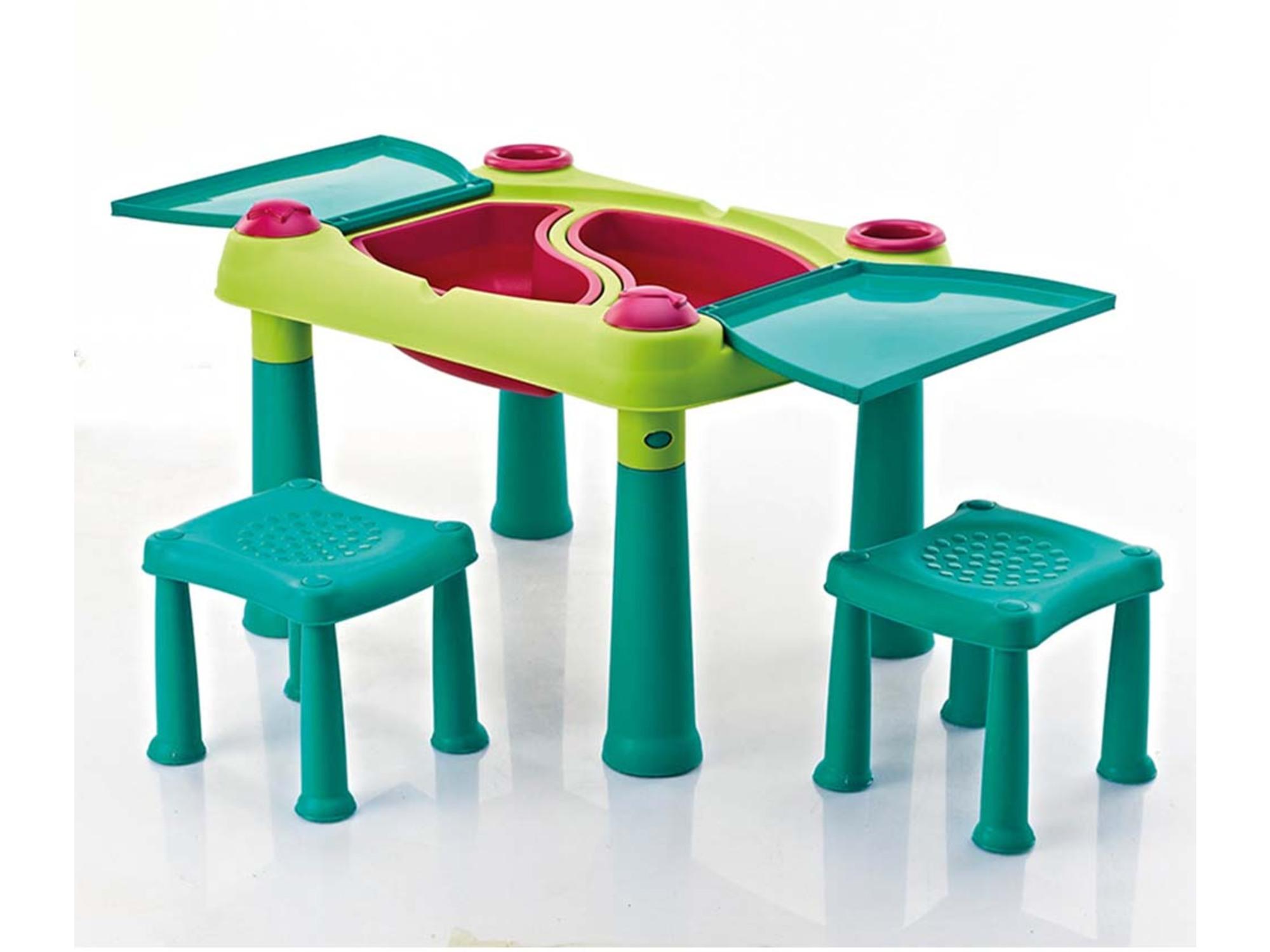 Keter Sto dečiji sa dve stolice set CU 231593
