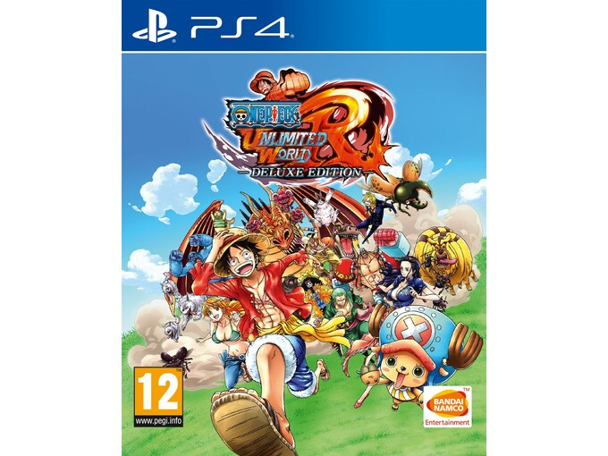 NAMCO BANDAI One Piece Unlimited World Red Deluxe Edition (playstation 4)