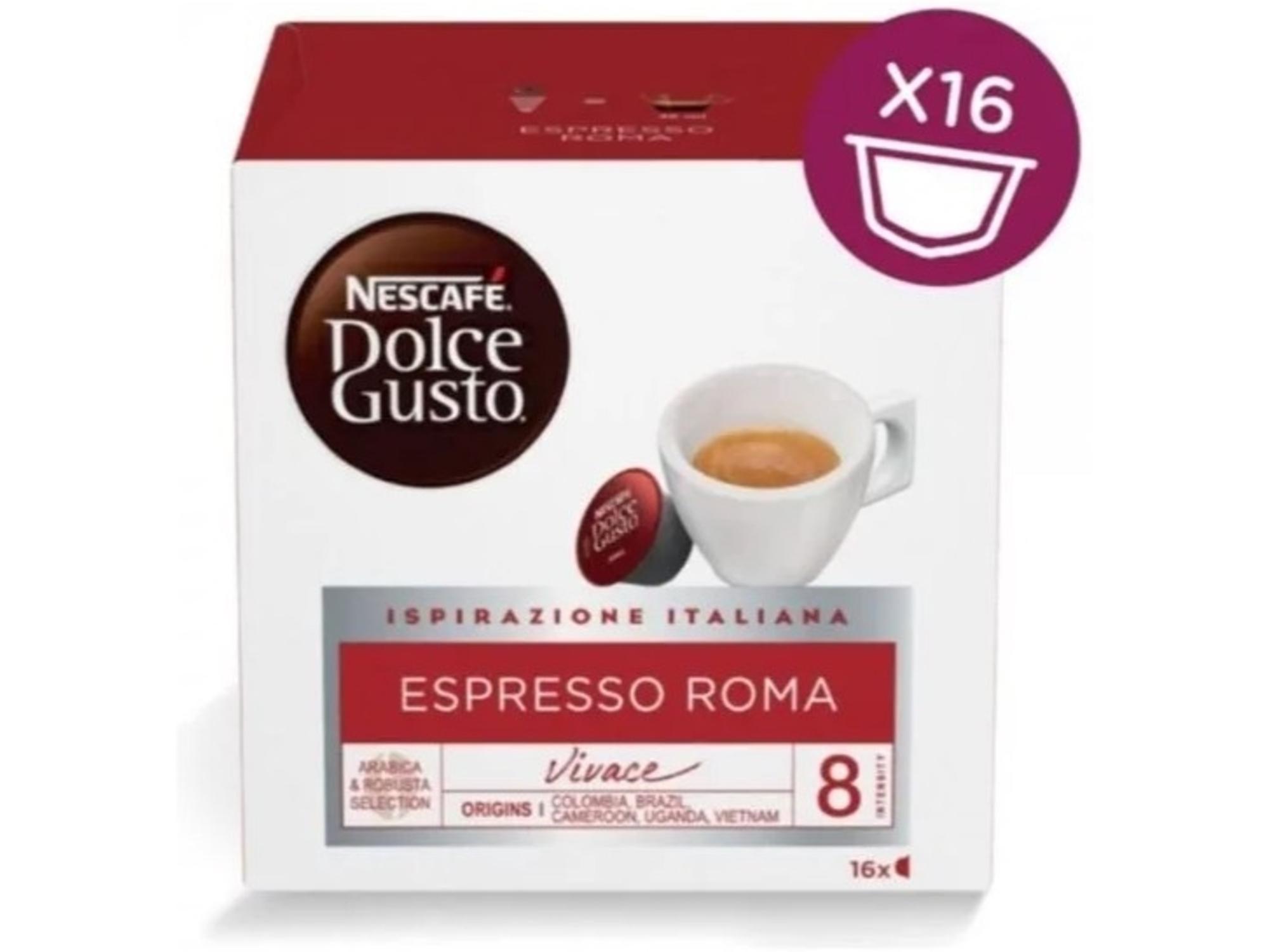 Nestle espresso kapsule Dolce Gusto Italy Mix 3x16 kos