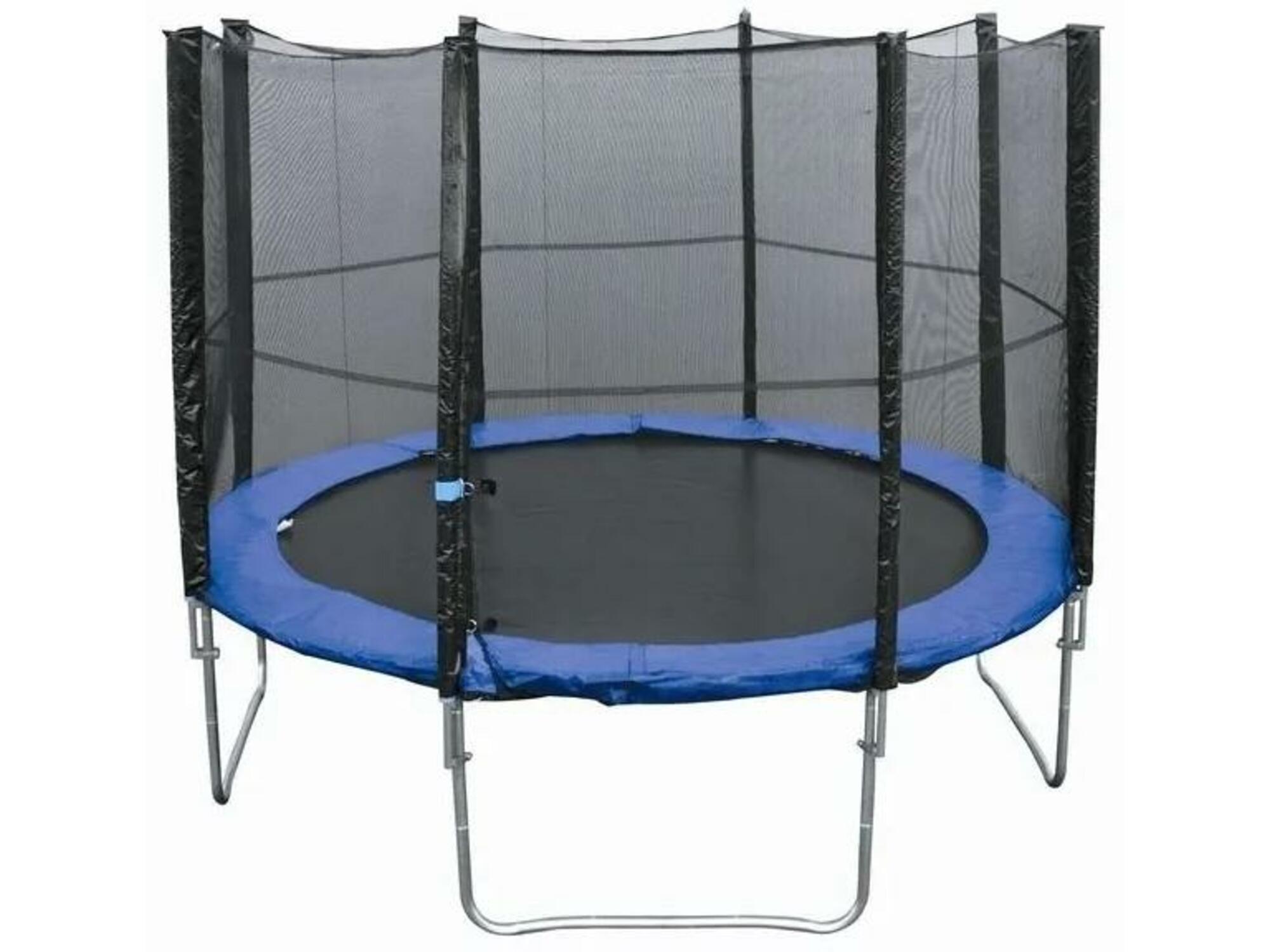 HELLY SUN trampolin z zaščitno mrežo TM-114 (00109) 397 cm