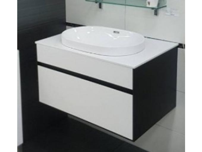 Kolpa-San Podumivalniška omarica s predalom DONNA OD 80 črna 528810