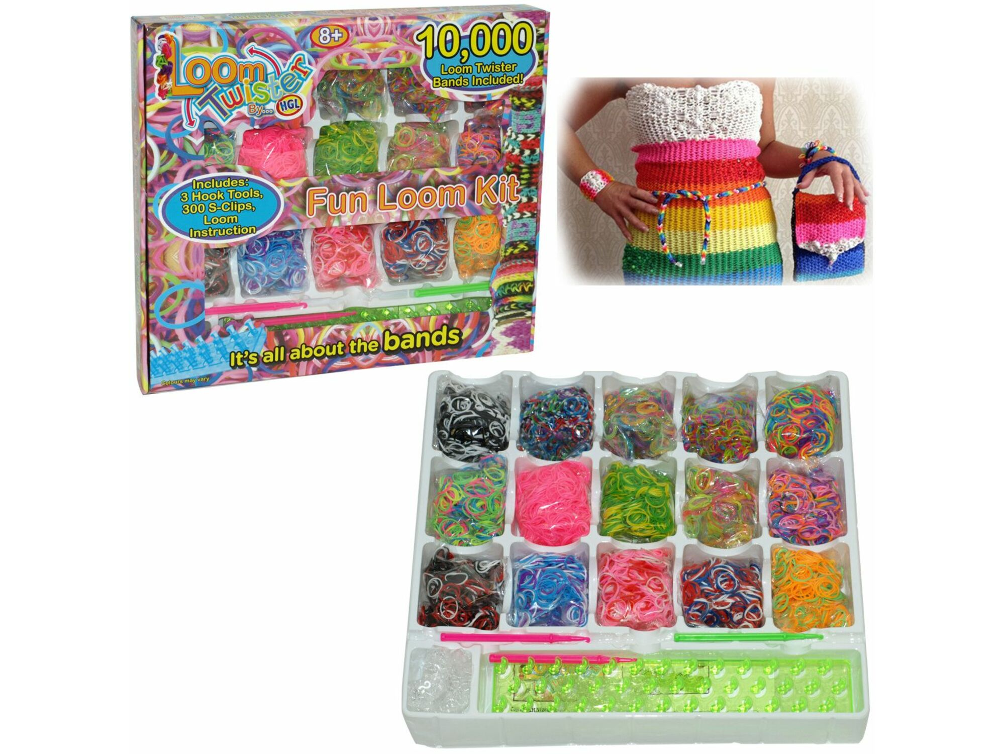 Creative Fun Loom Set 10000 29-672000