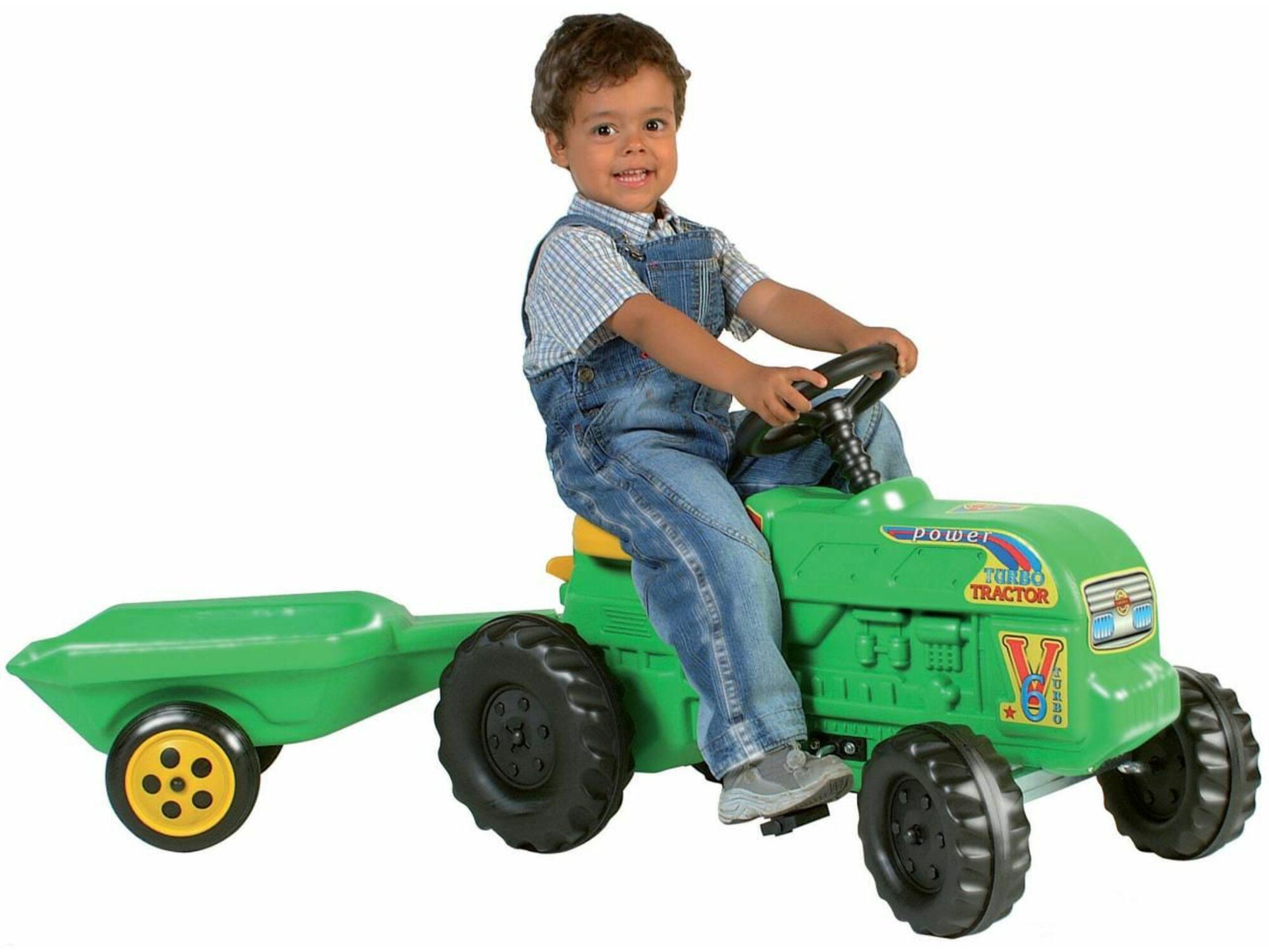 Traktor s prikolicom 54x139x45 30-712000