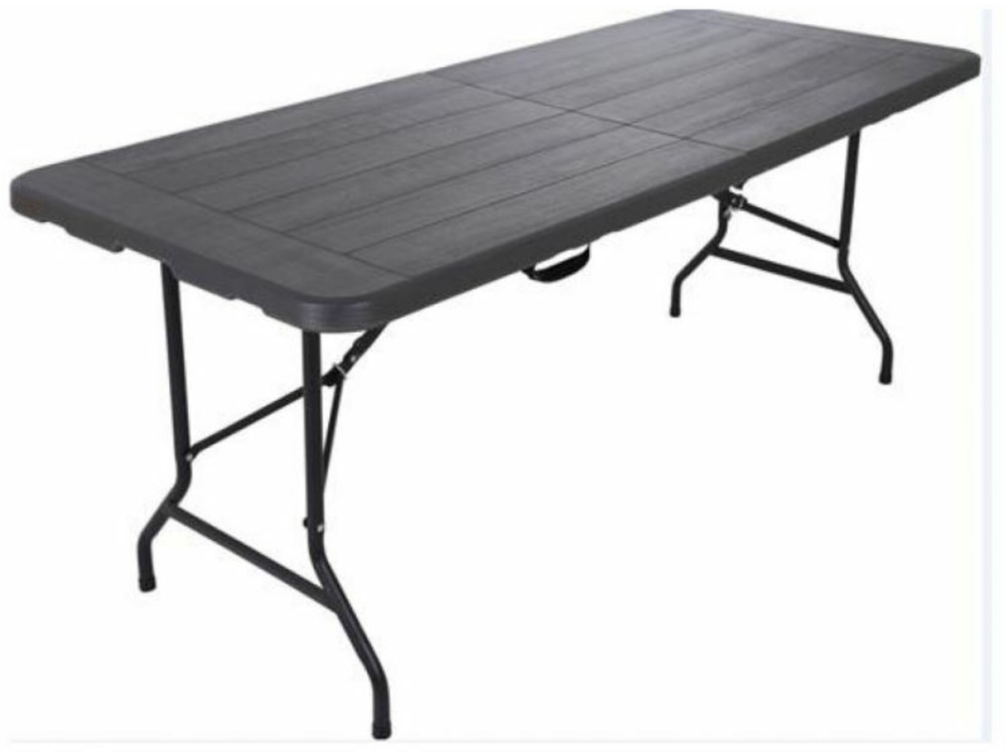 Denis miza zložljiva 32-347000 180x76x74 črna