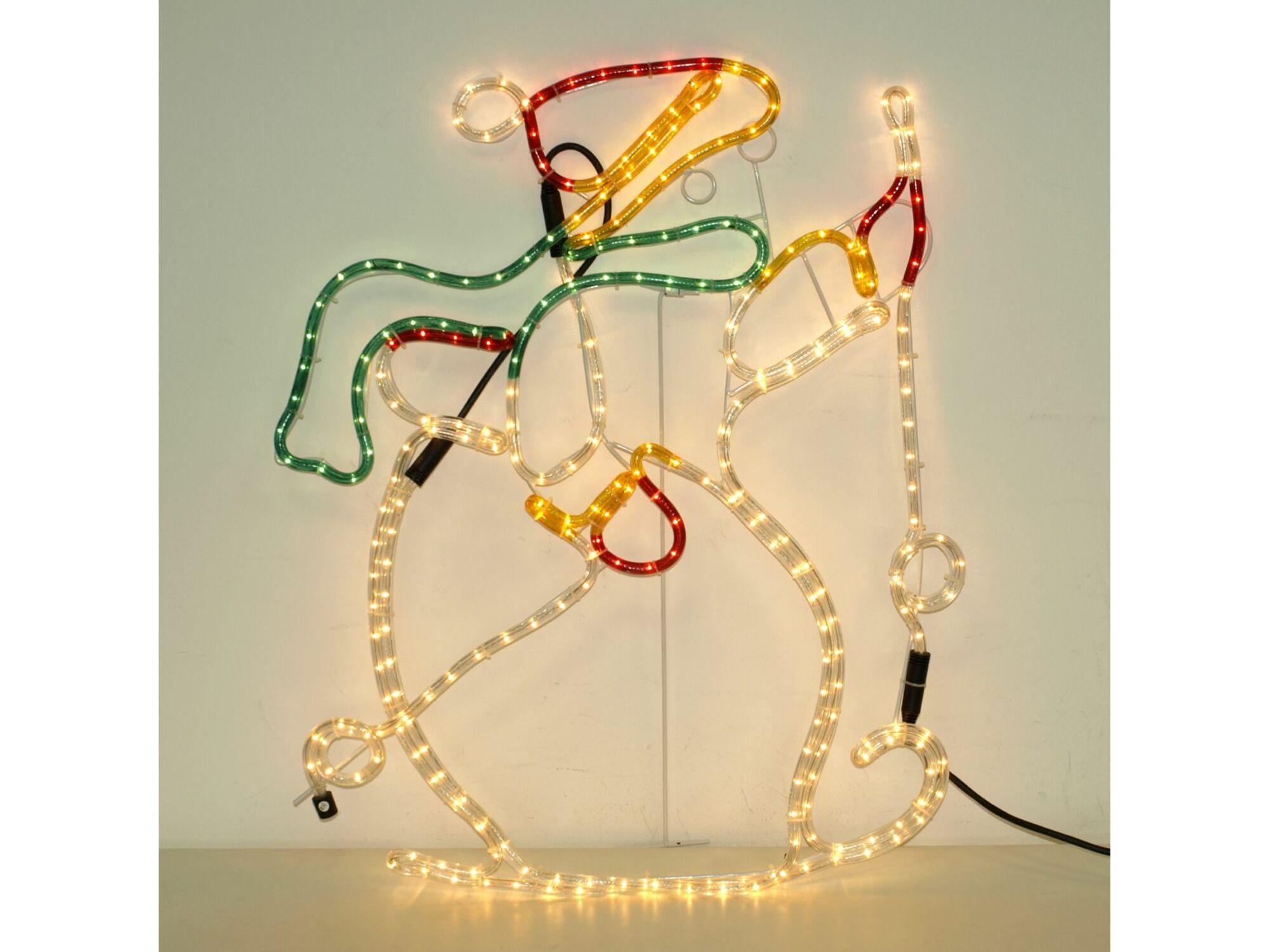 Božićni svetleći okvir 9m 52-203000