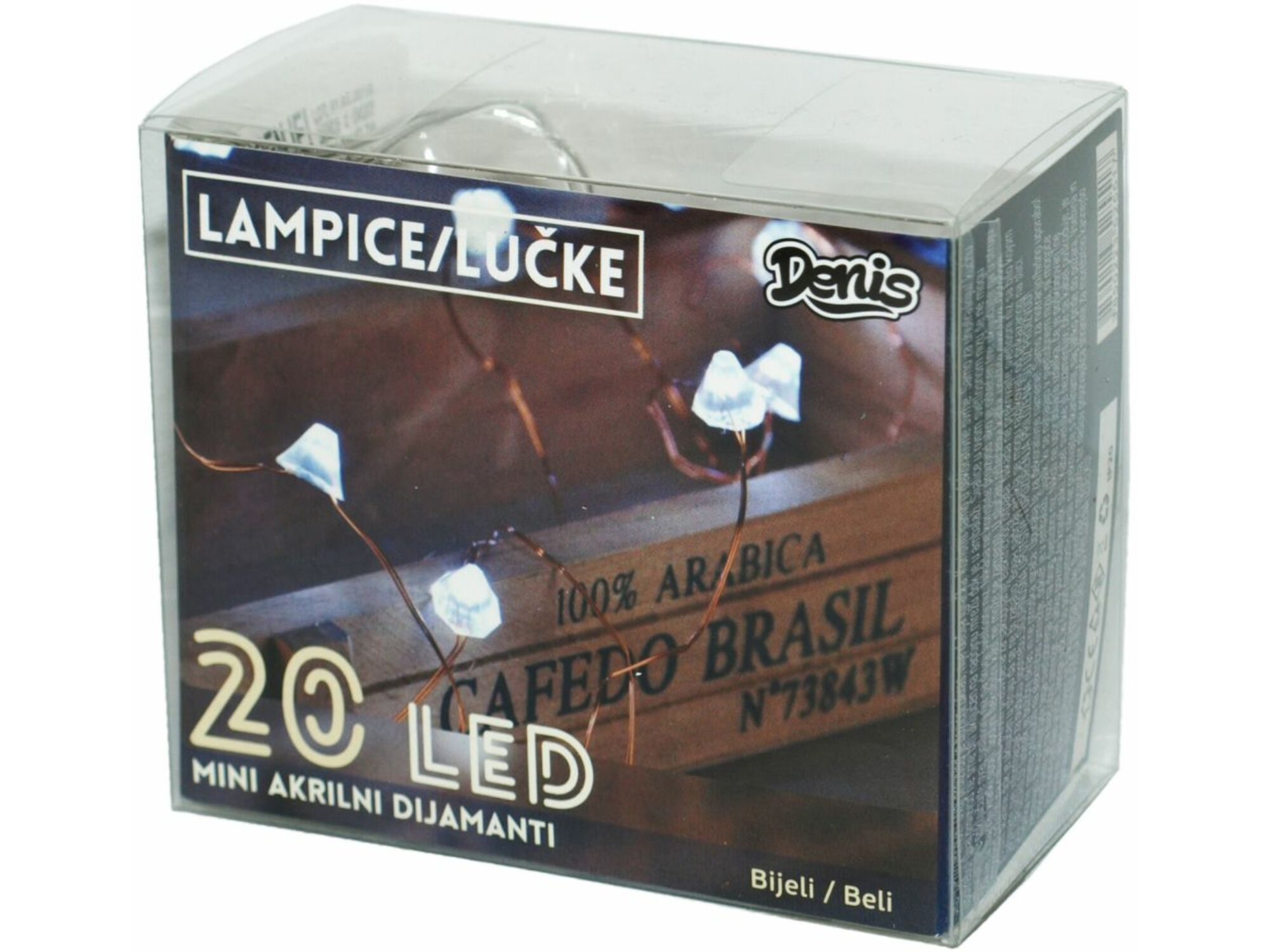 LED mini akril dijamanti, 20L 52-551000
