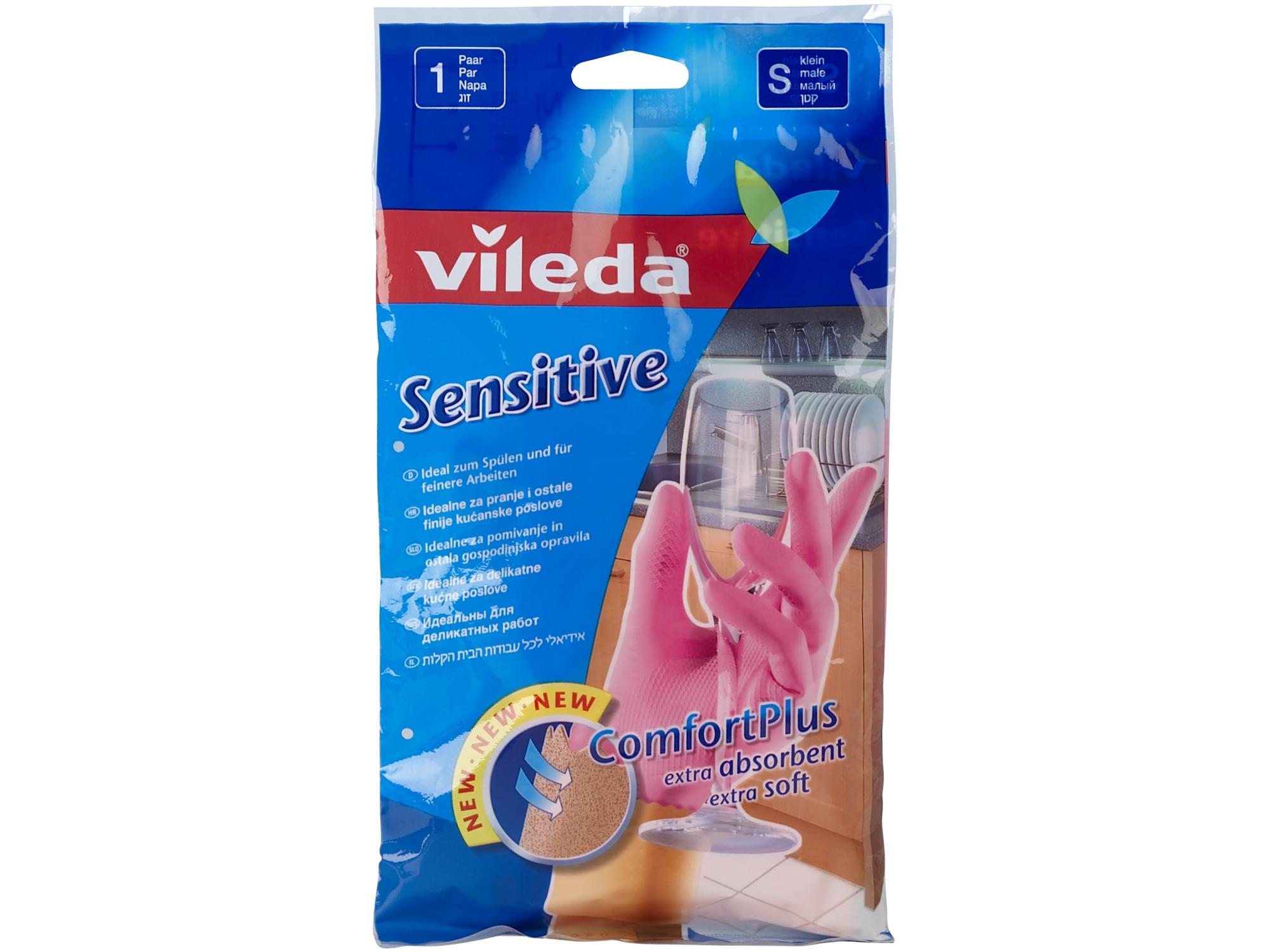 Vileda Rukavice sensitive-S 6701604