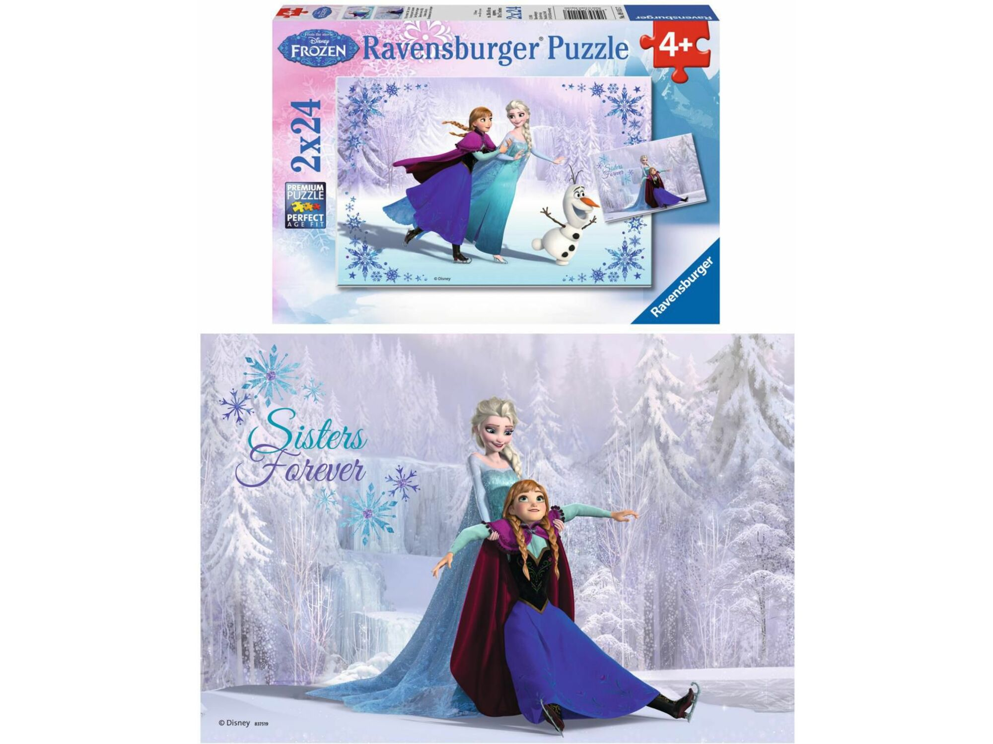 Slagalica 2x24 Frozen 01-091157