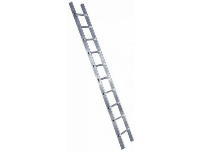Krause-Werk prislonilna aluminijasta lestev Corda 10 stopnična 010100