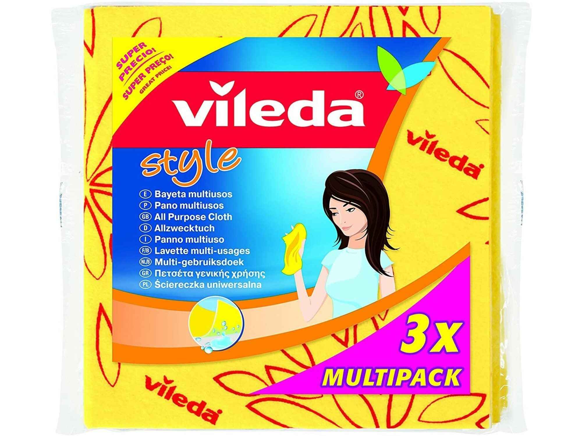 Vileda Style krpa 3/1 6700344