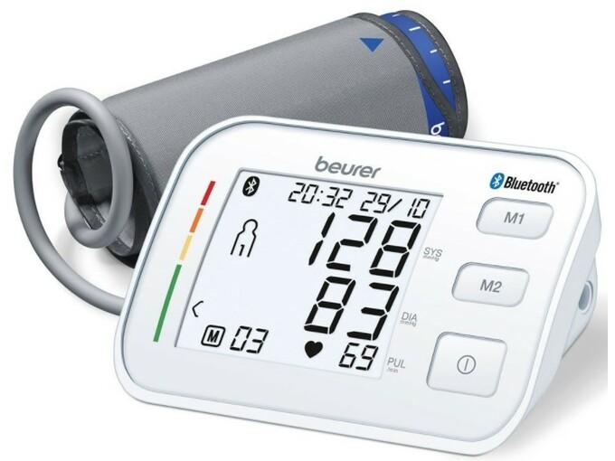 Beurer Avtomatski nadlaktni merilnik krvnega tlaka BM 57