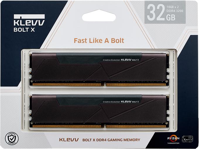 KLEVV Klevv Bolt X 32GB Kit (2x16GB) DDR4-3200MHz CL16, 1.35V KD4AGU880-32A160U