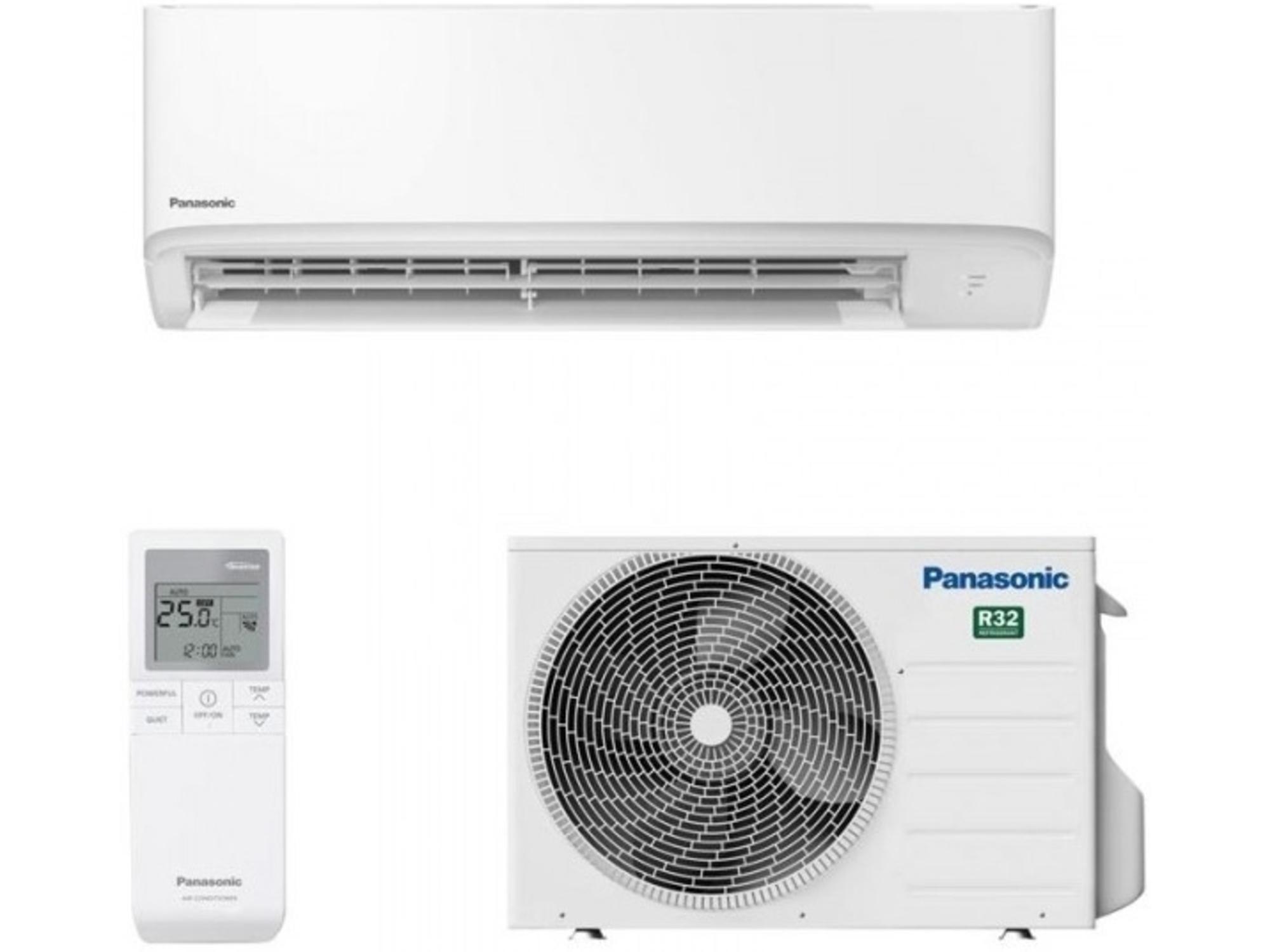 Panasonic Klimatska naprava z montažo COMPACT CS-TZ20WKEW/CU-TZ20WKE - 2kW