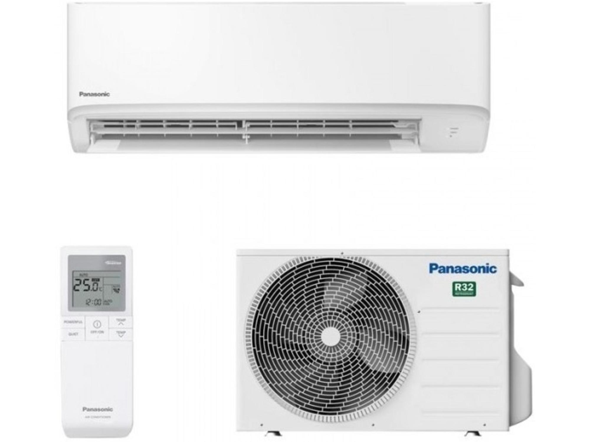 Panasonic Klimatska naprava z montažo COMPACT CS-TZ35WKEW/CU-TZ35WKE - 3,5kW