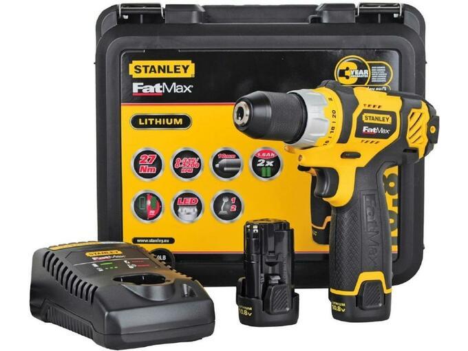 STANLEY akumulatorski vrtalnik vijačnik 10,8 V FMC010LB