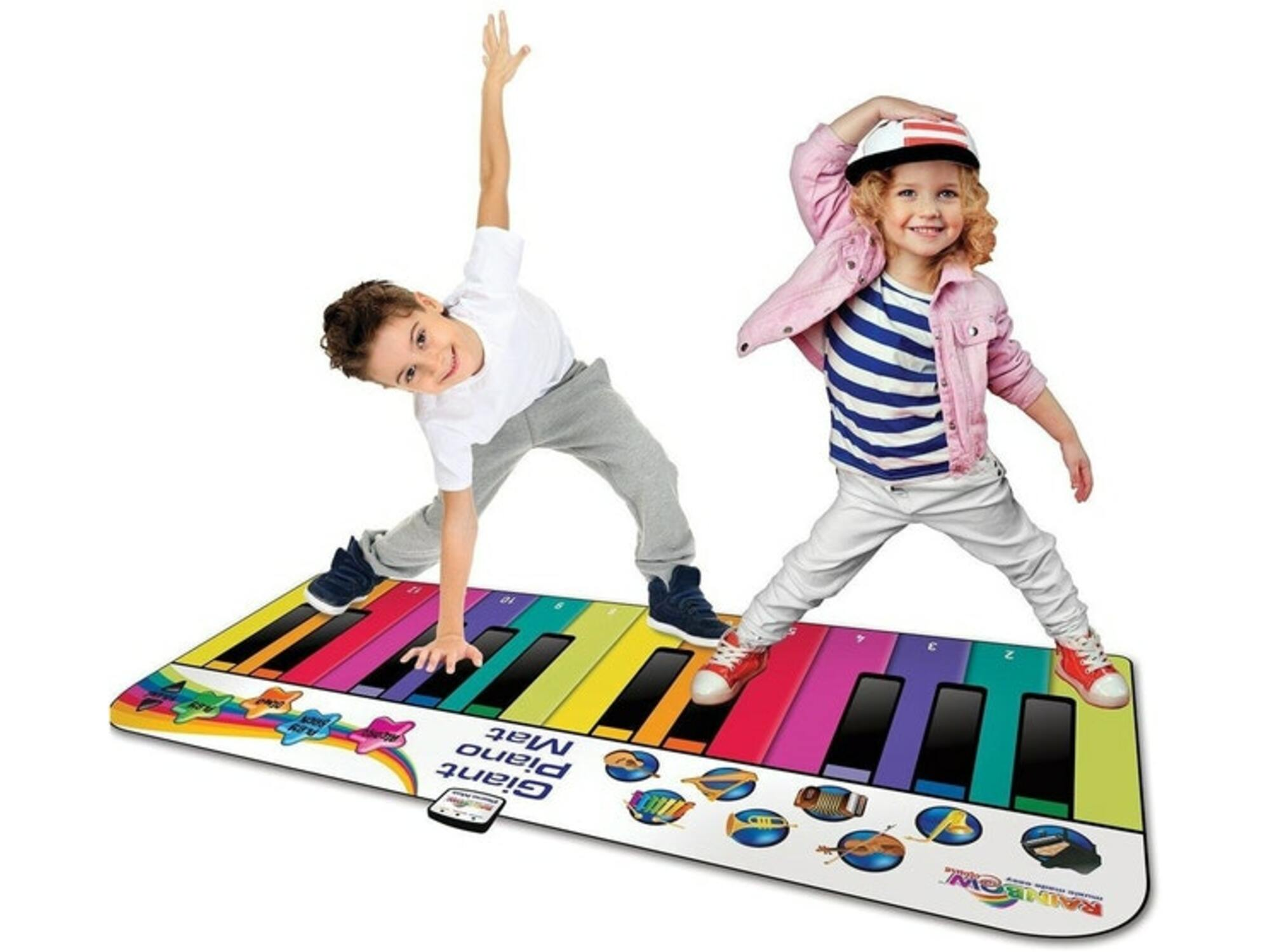 iDance Rainbow Giant Piano Mat 34808