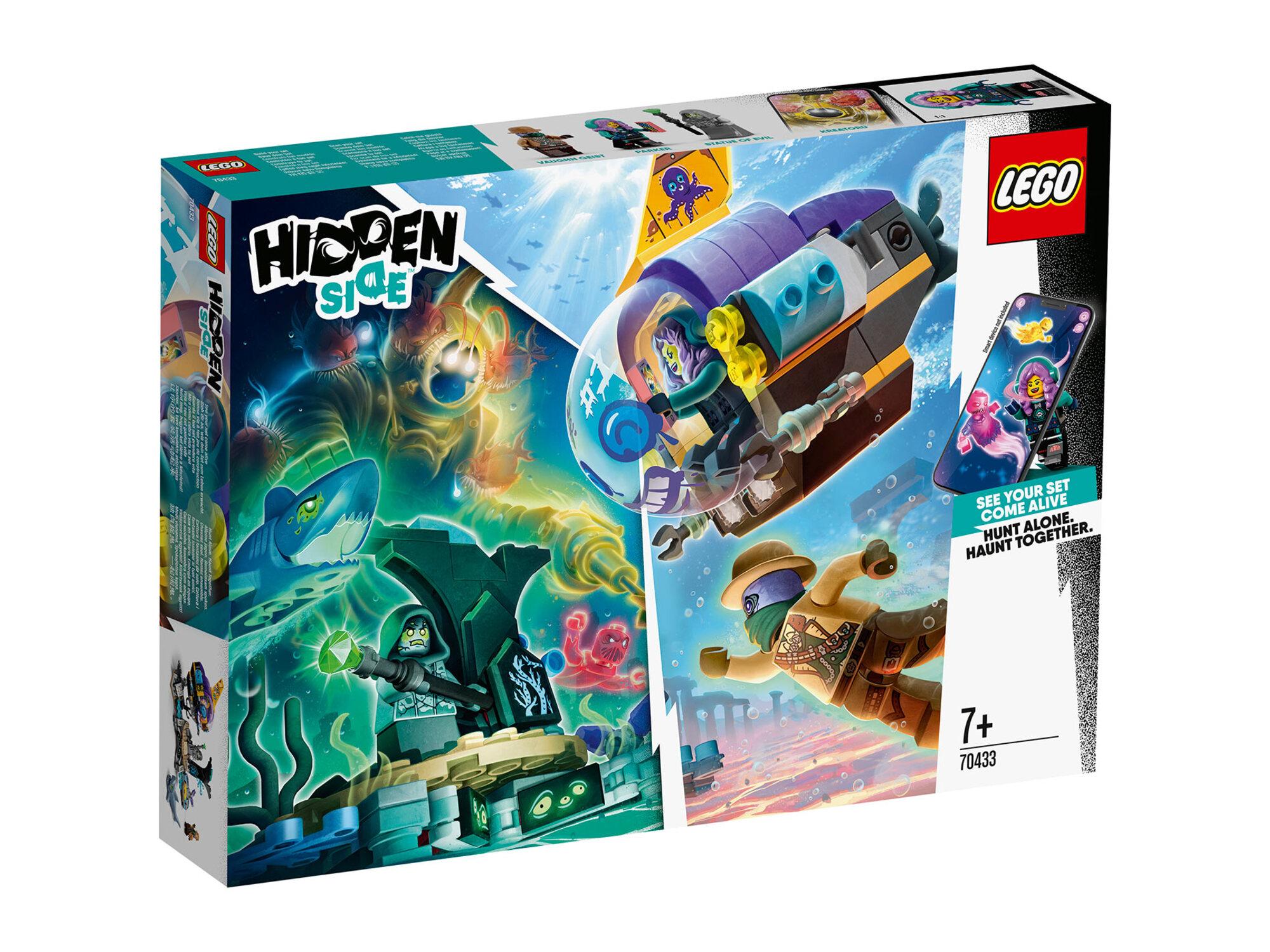 LEGO Džej-bijeva podmornica 70433