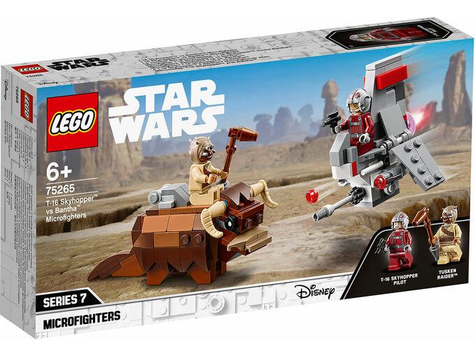 LEGO Mikroborci 7: T-16 Skyhopper™ protiv Bantha™ 75265