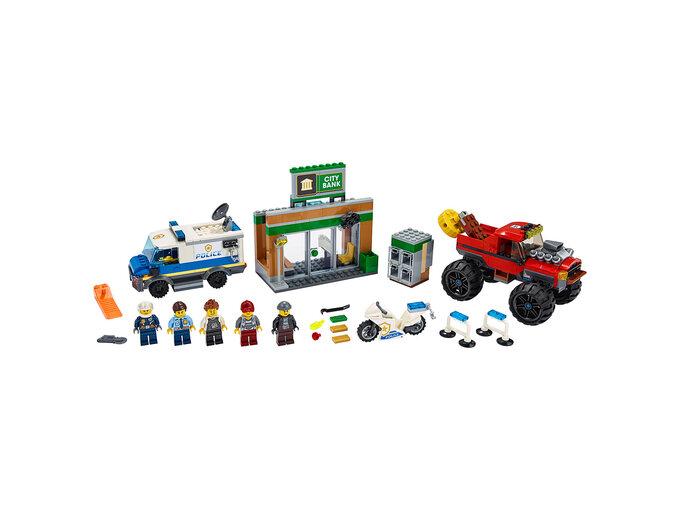 LEGO Policija: Pljačka džinovskim kamionom 60245