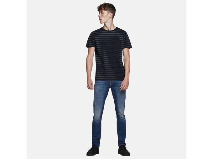 JACK&JONES Moški jeans denim 12175888 BLUE DENIM 29/32 / DENIM MODRA