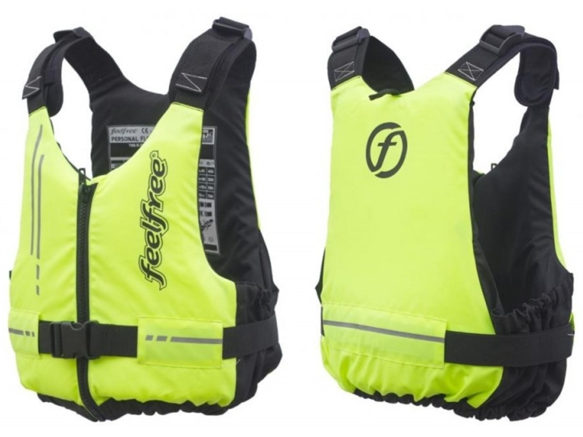 Feelfree rešilni jopiči za odrasle Basic L/XL 70N, Rumen