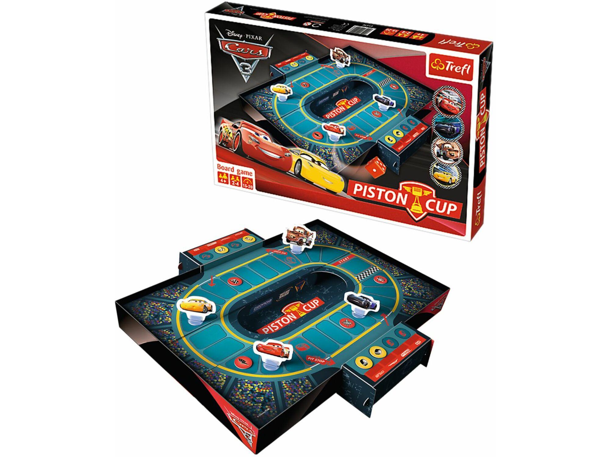 Trefl Piston Cup Cars 3 12-014907