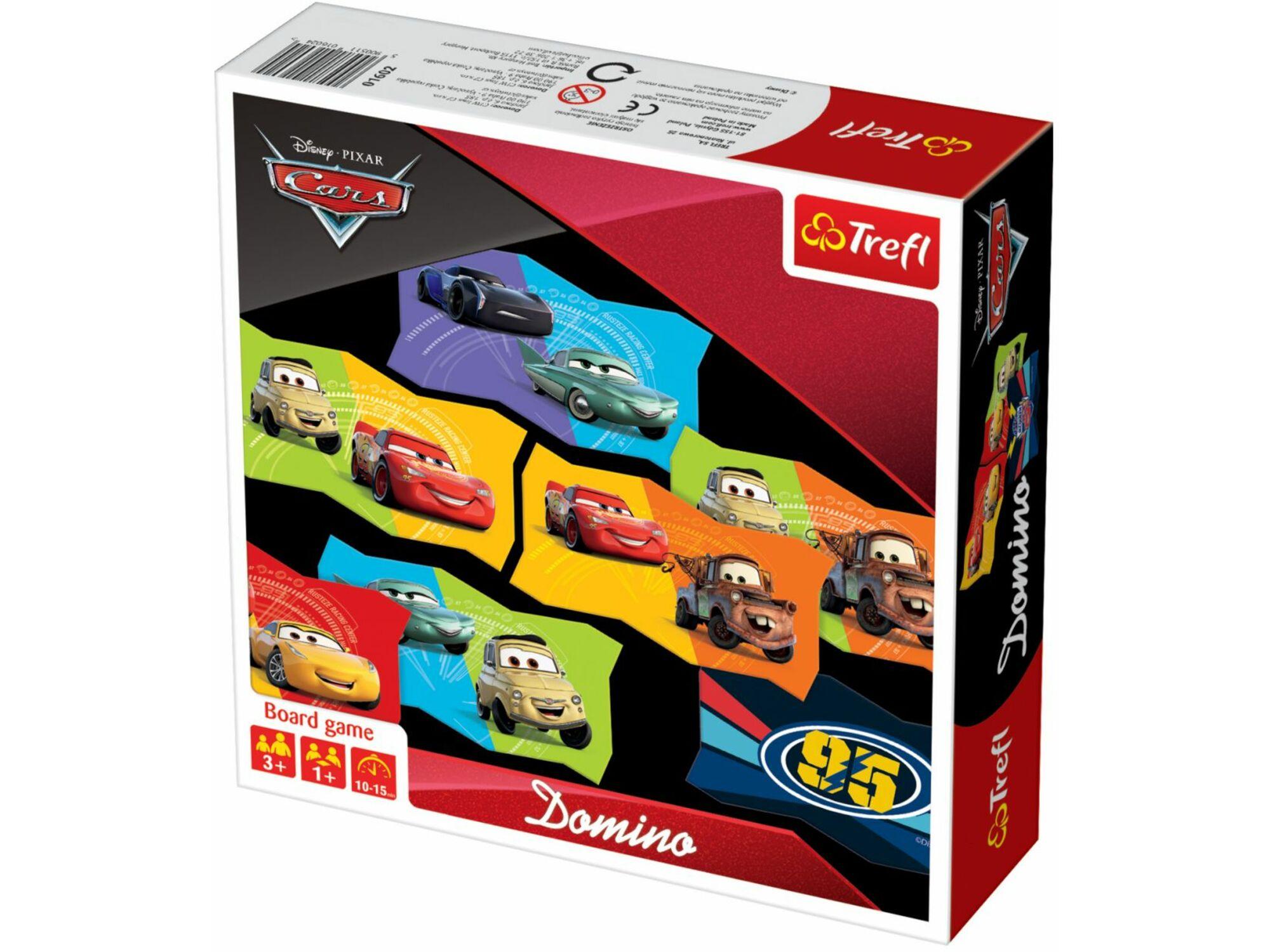 Trefl Domino Cars 12-015997