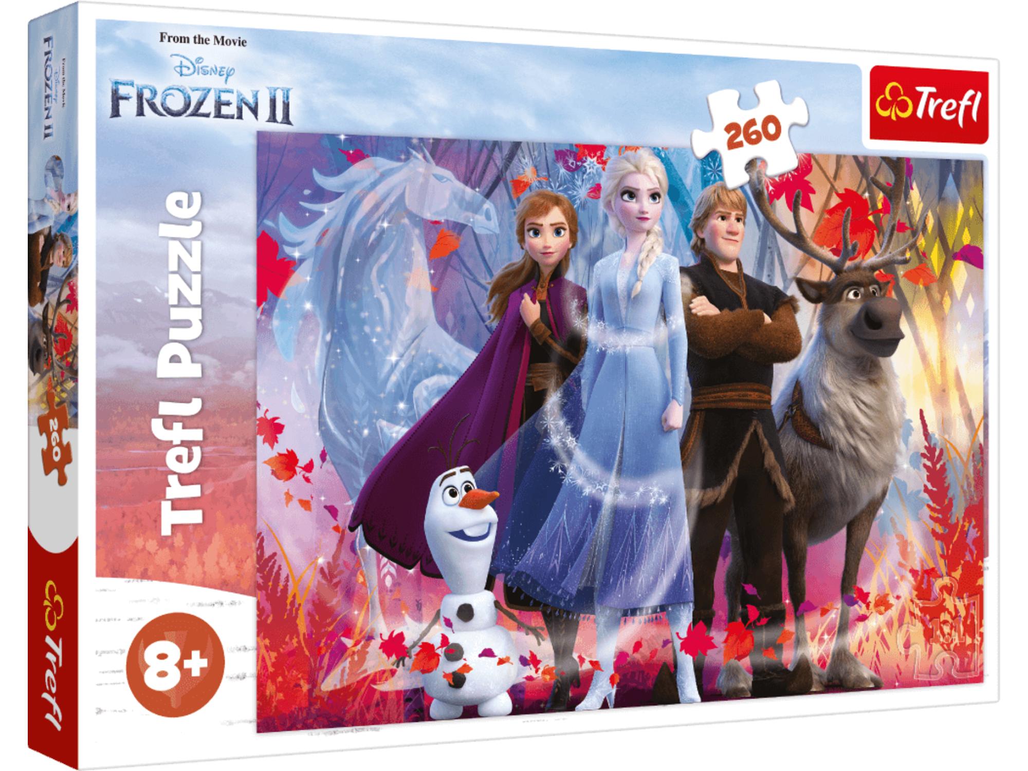 Trefl Slagalica 260 Frozen II 12-132502