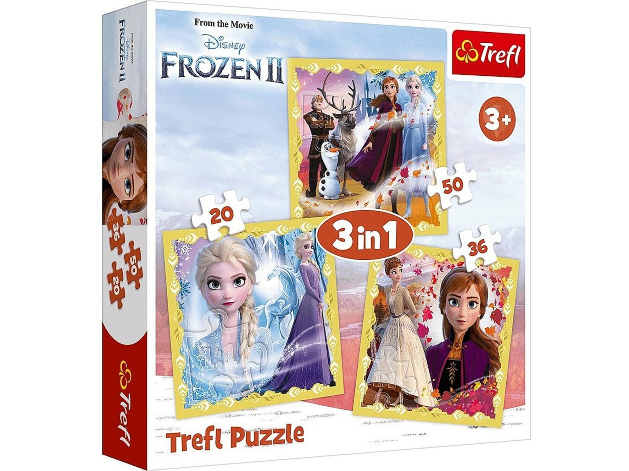 Slagalica 3 u 1 Frozen II 12-348477