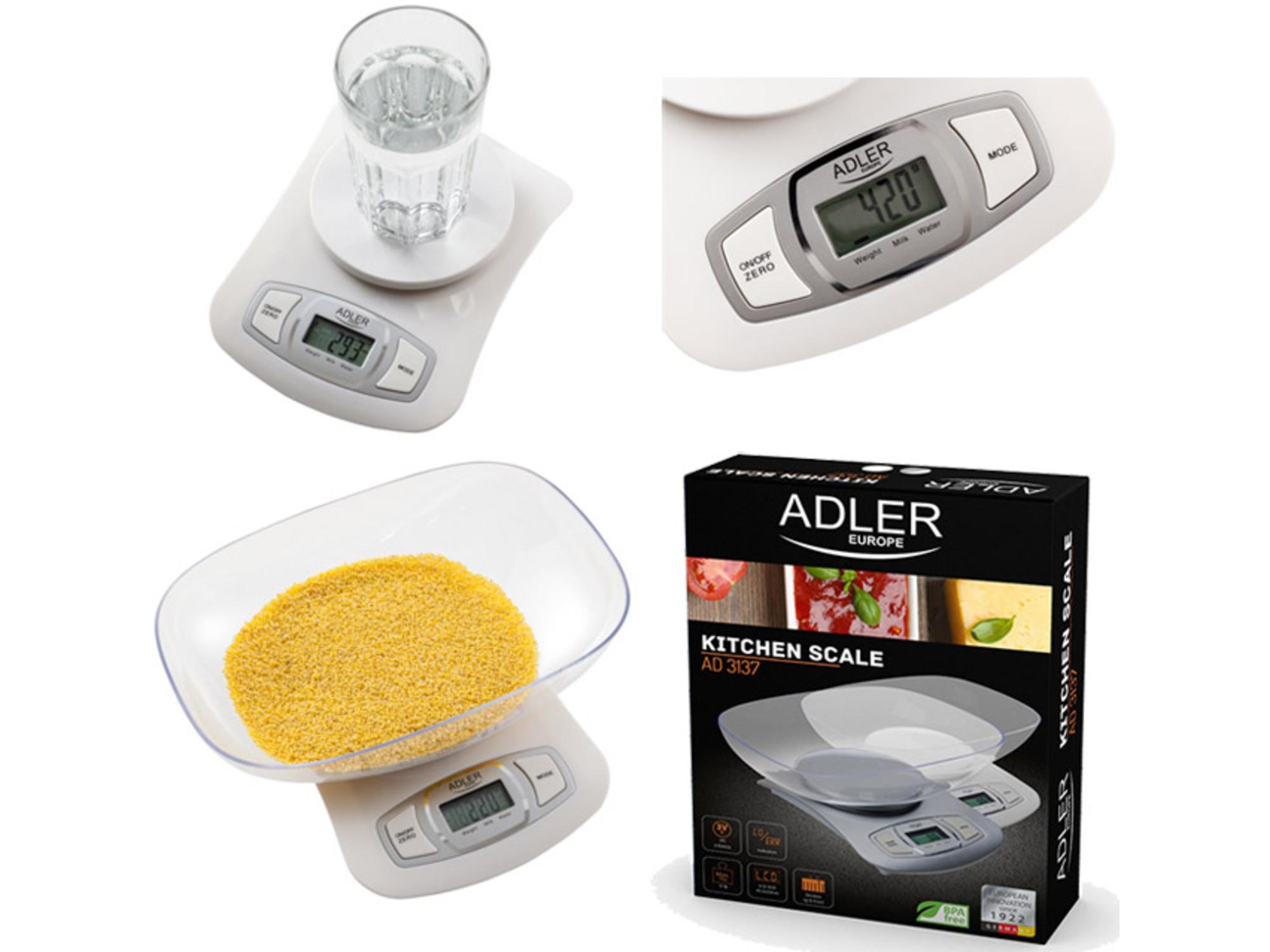 Adler Kuhinjska Vaga Ad3137W