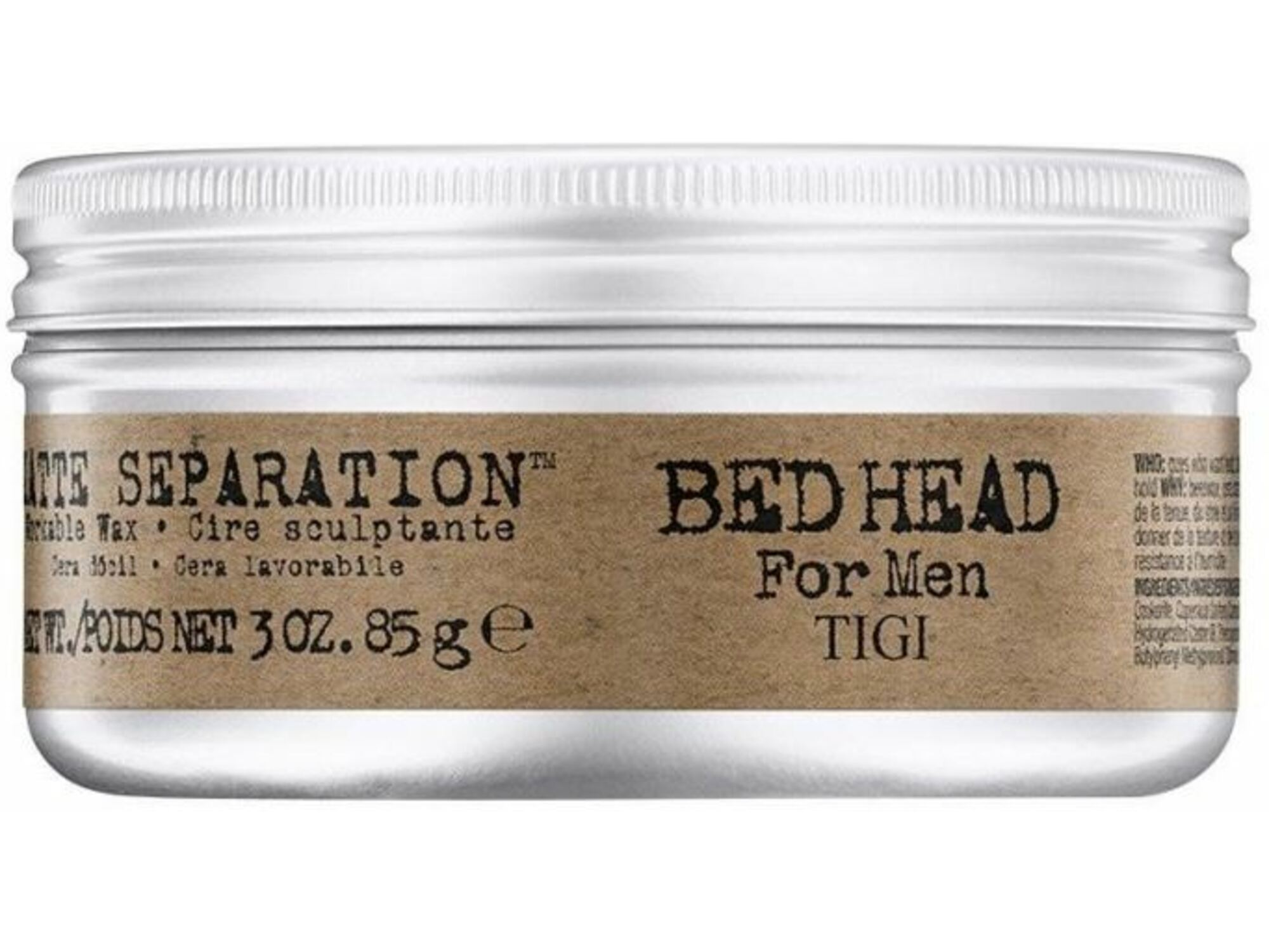Tigi vosek za lase BED HEAD B FOR MEN Matte Separation Wax 85g