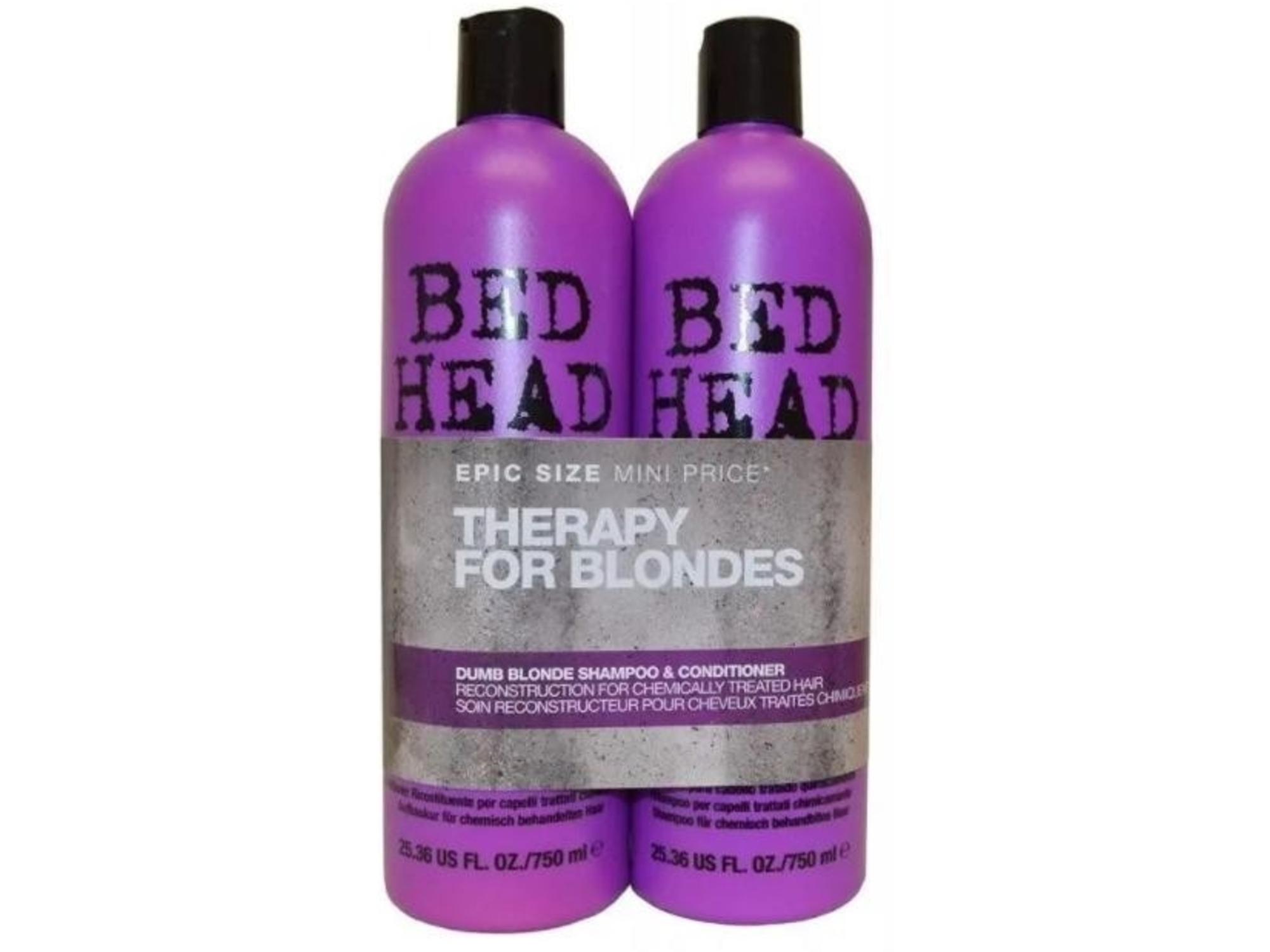 Tigi Šampon in balzam BED HEAD Dumb Blonde Tweens 2x 750 ml