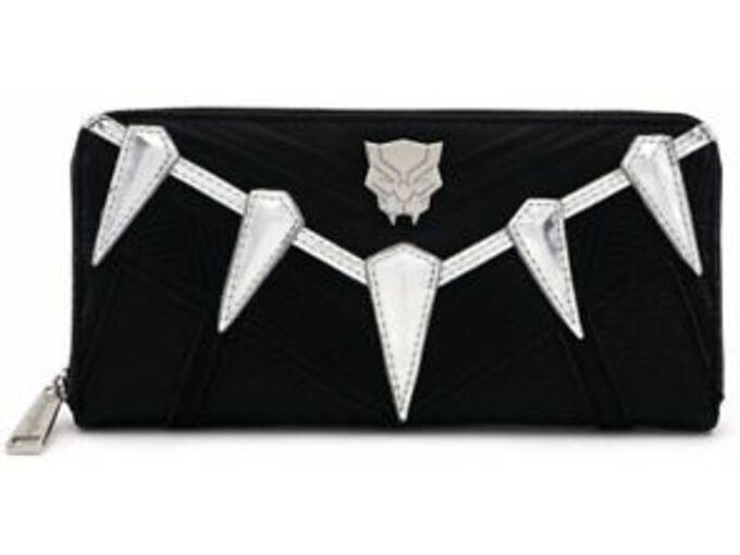 LOUNGEFLY denarnica BLACK PANTHER ZIP AROUND