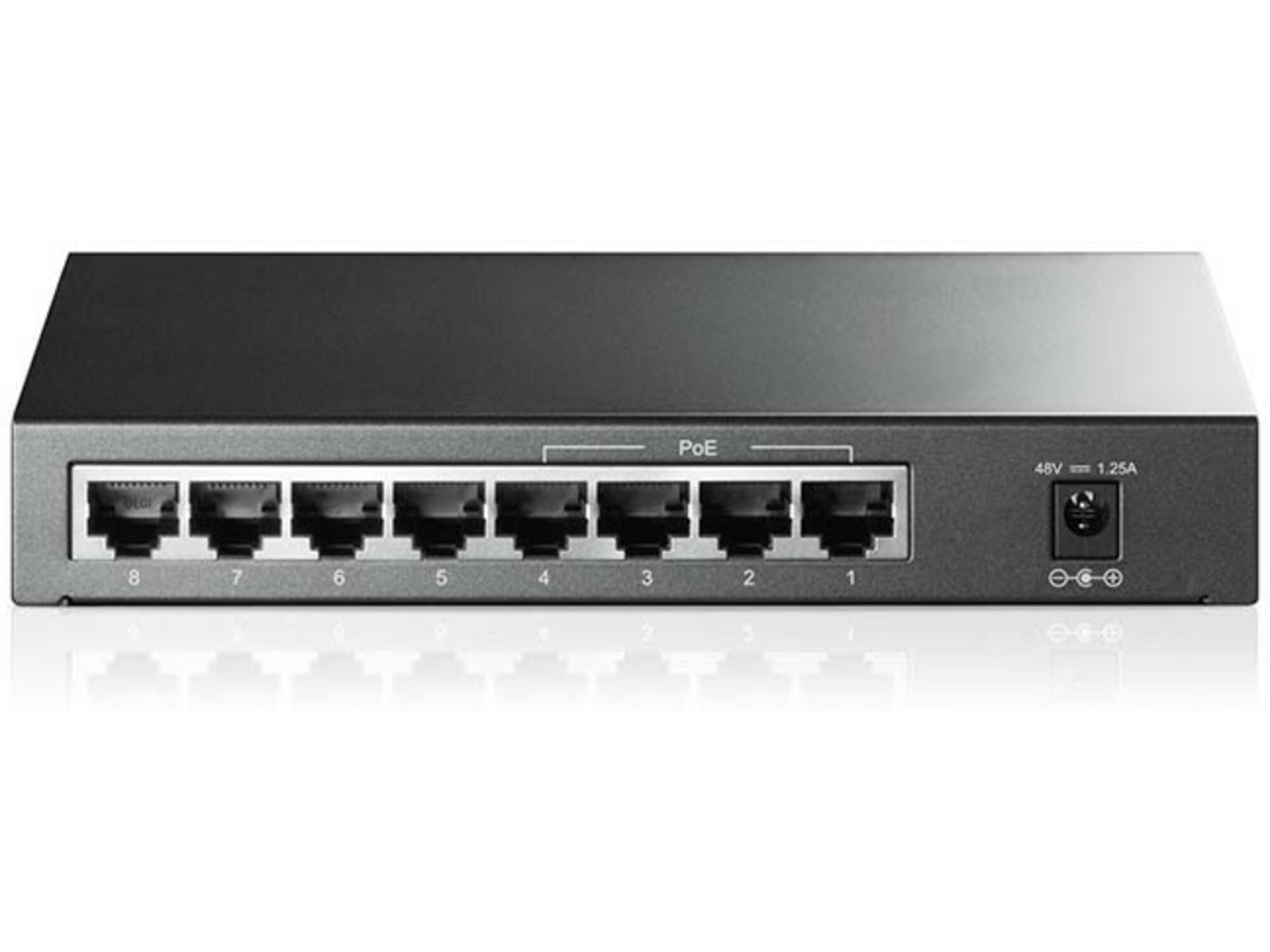 TP-Link mrežno stikalo TL-SF1008P 8-port