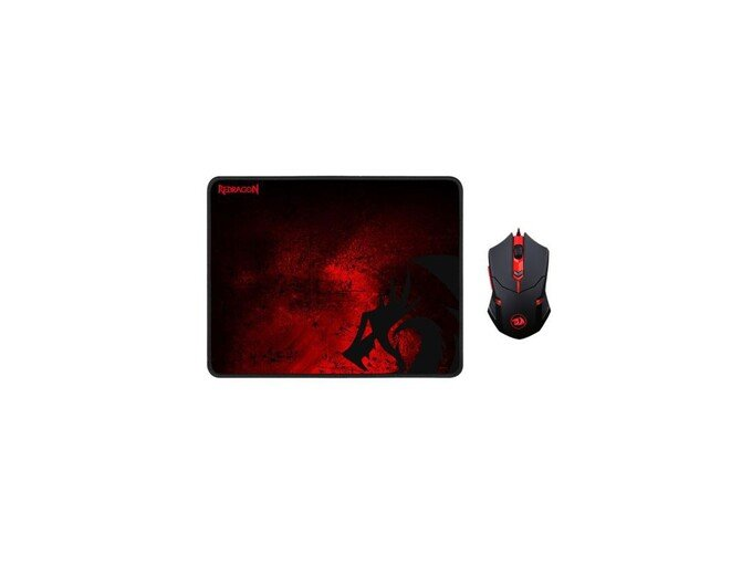 Redragon 2 in 1 Combo M601-BA Mouse and MousePad 30621