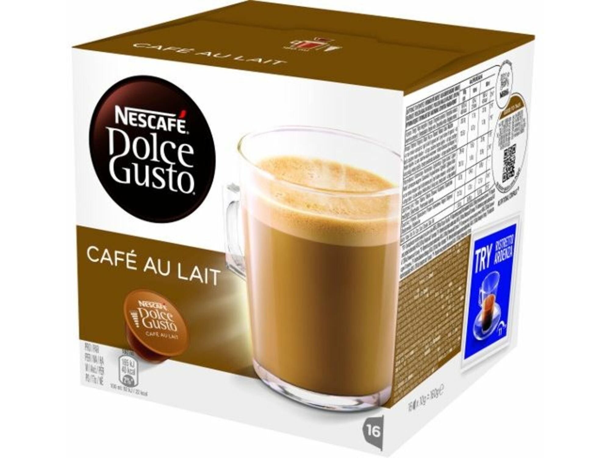 Nestle kavne kapsule Dolce Gusto Cafe Au Lait 160 g - 16 kos
