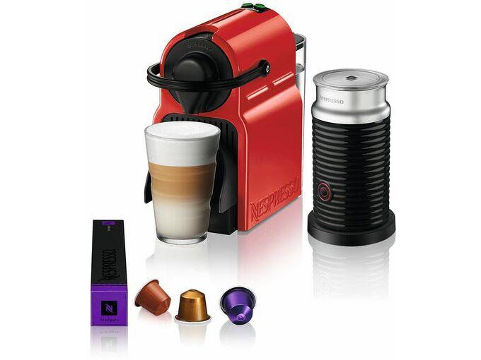 Nespresso Aparat za kafu Inissia Red&Aeroccino A3NC40EURE-TX