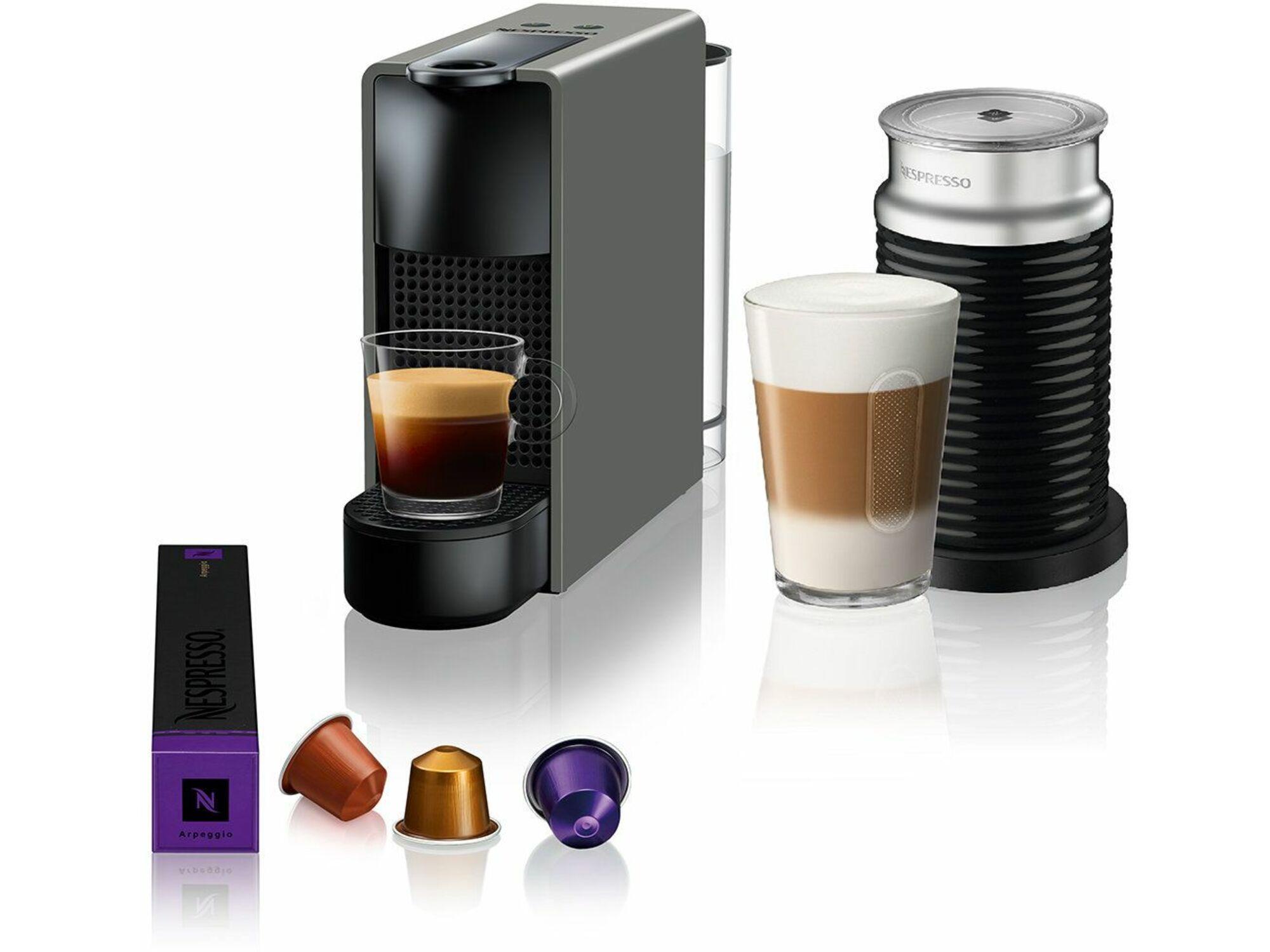 Nespresso Aparat za kafu Essenza Mini Grey&Aeroccino A3NC30EUGR-TX
