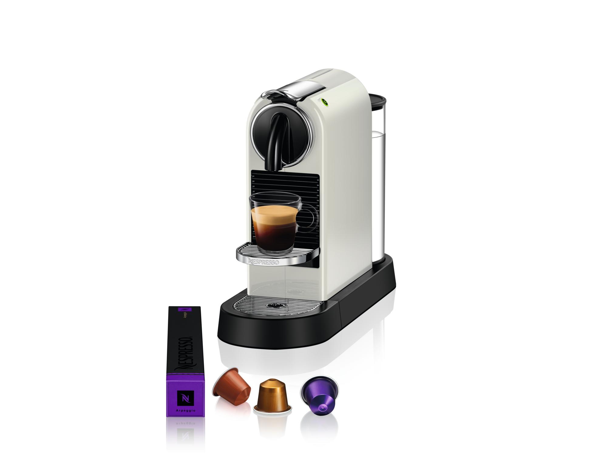 Nespresso Aparat za kafu Citiz White D113-EUWHNE-S