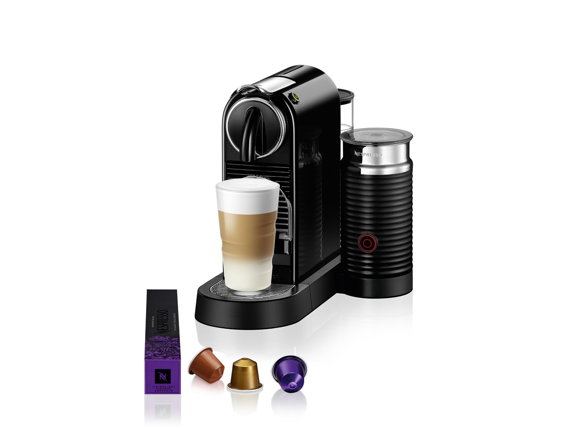 Nespresso Aparat za kafu Citiz&Milk Black D123-EUBKNE-S