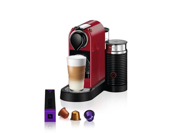 Nespresso Aparat za kafu Citiz&Milk Red C123-EUCRNE-S