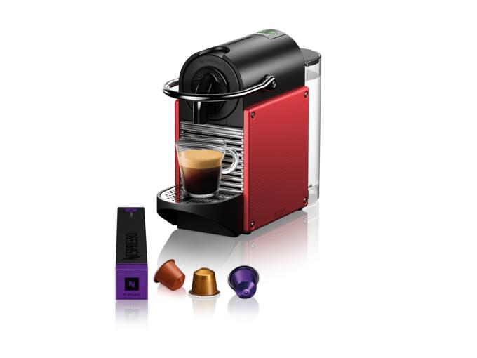 Nespresso Aparat za kafu Pixie Carmine Red D61-EUDRNE-S