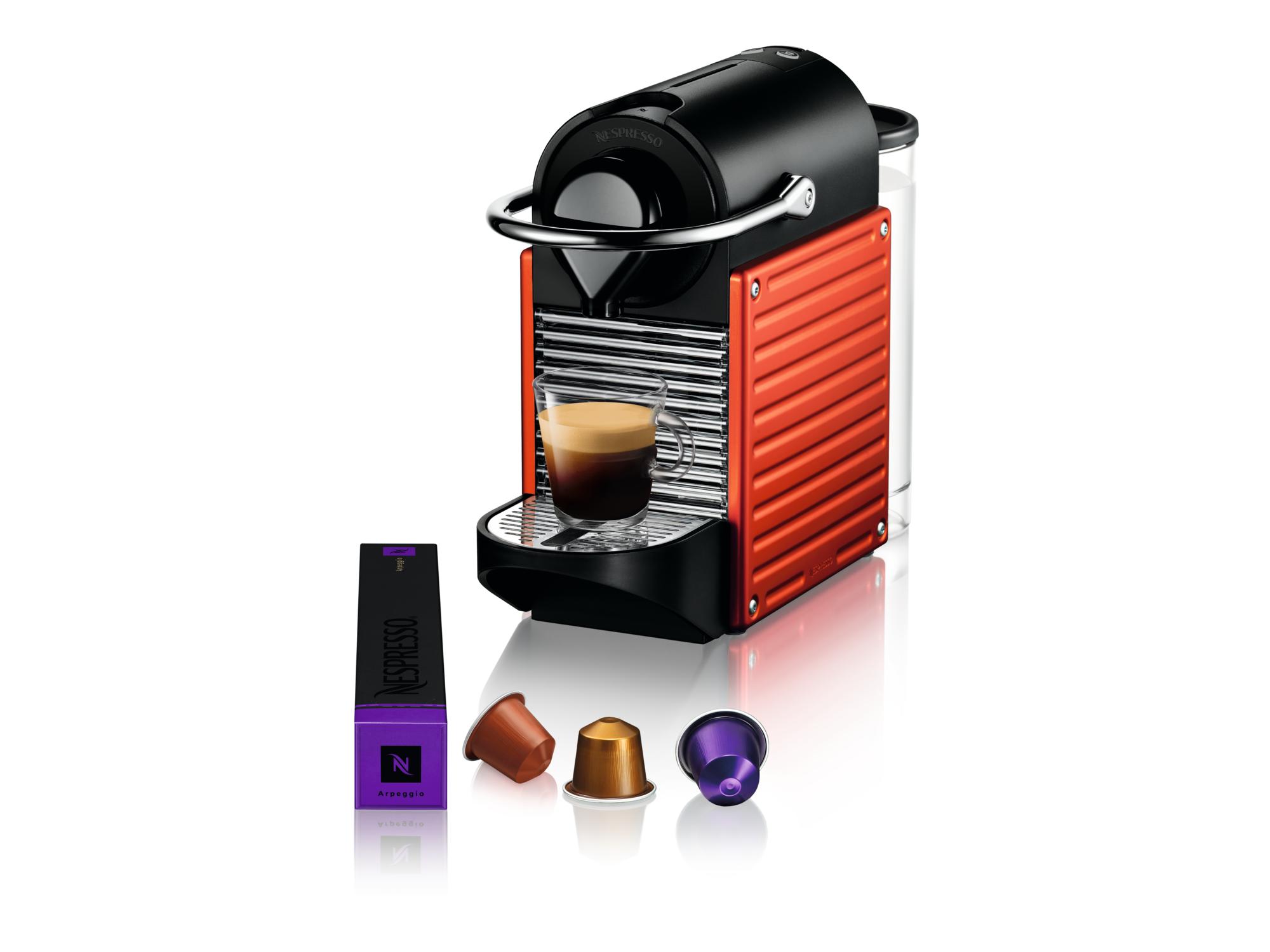 Nespresso Aparat za kafu Pixie Electric Red C61-EURENE-S