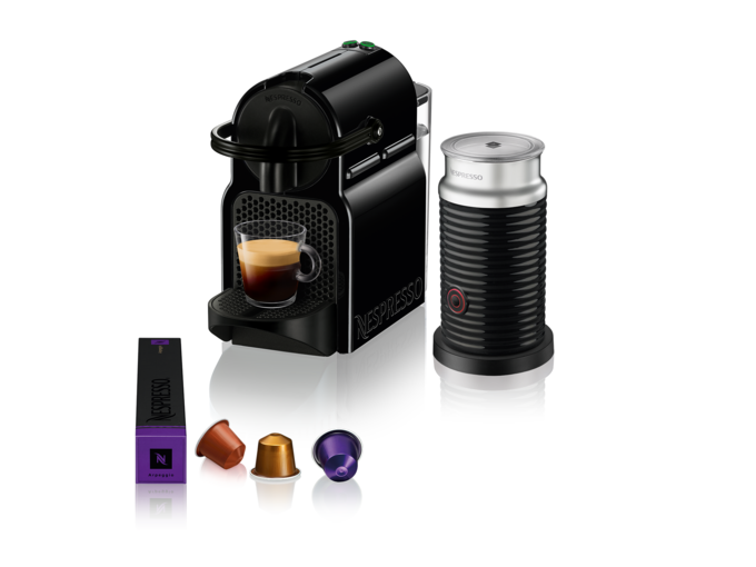 Nespresso Aparat za kafu Inissia Black&Aeroccino A3ND40EUBK-DL