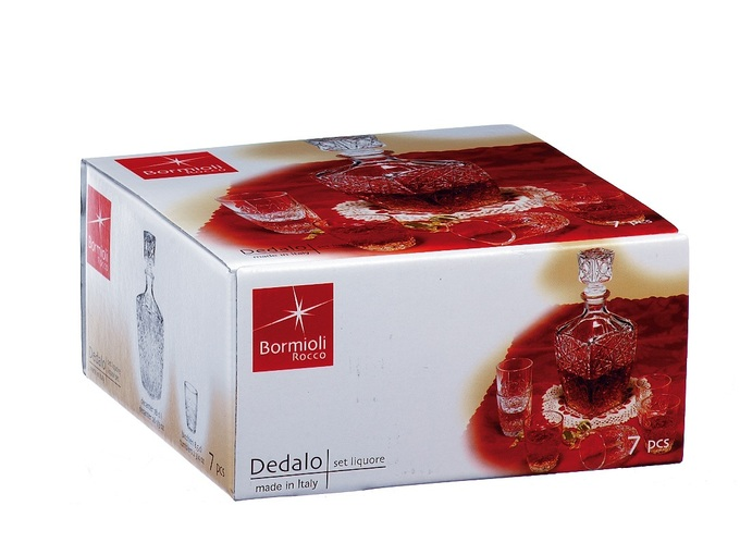 Bormioli Set za liker Dedalo 7/1 226060