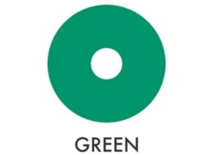 Color Us intezivna maska za obnovo in navlažitev in barva za lase Vibrant Party 100 ml, zelena
