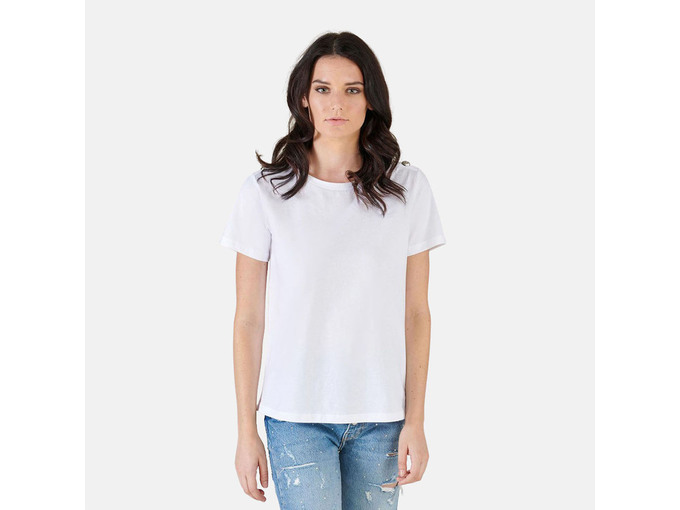 SILVIAN HEACH Ženska majica kratek rokav PGP21794TS WHITE M / INTL BELA