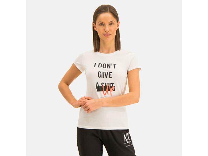 ARMANI EXCHANGE Ženska majica kratek rokav 3HYTEJ YJ16Z 1000 L / INTL BELA